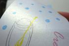 キュリアスメタル:メタリックな輝きを放つ両面パール紙です。